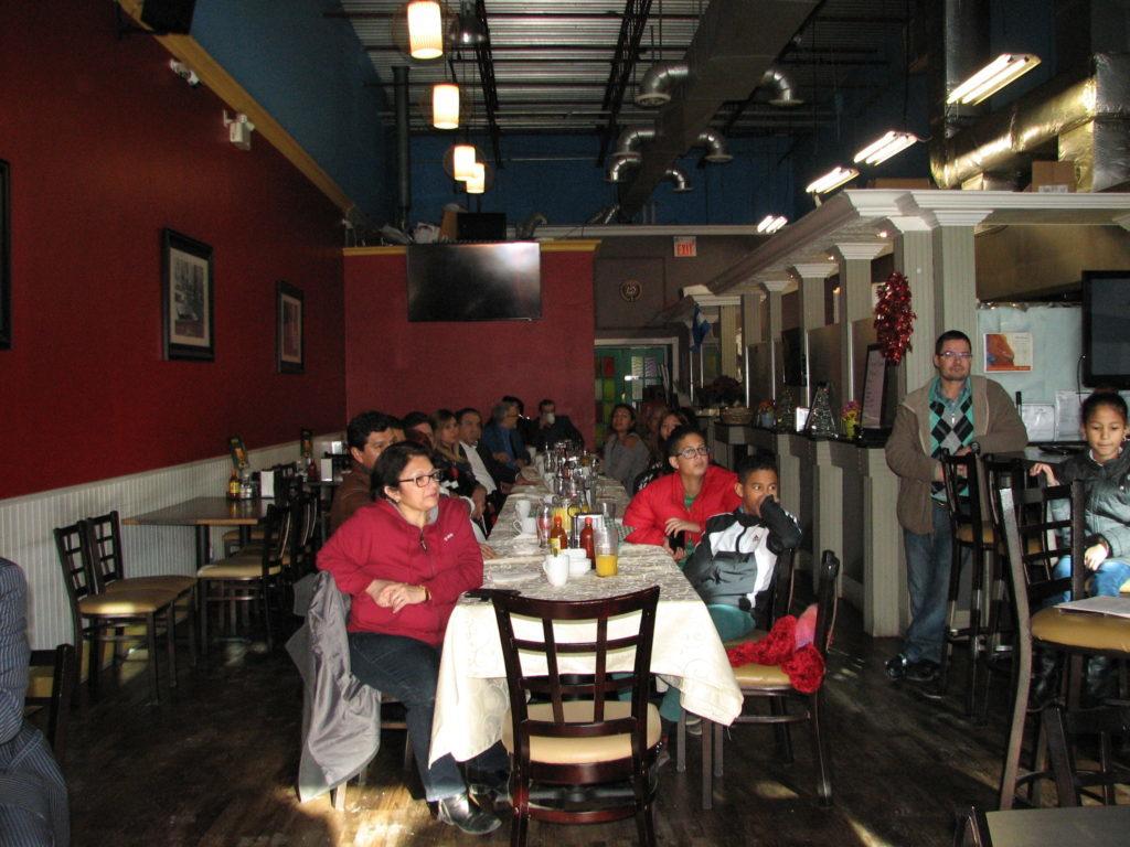 Desayuno de ATPE en el Restaurante Cuscatlan