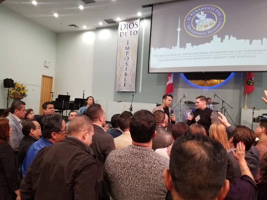 DIOS ESTÁ LEVANTANDO LÍDERES EN CANADÁ. Lo declaró el Pastor Samuel Rodríguez.