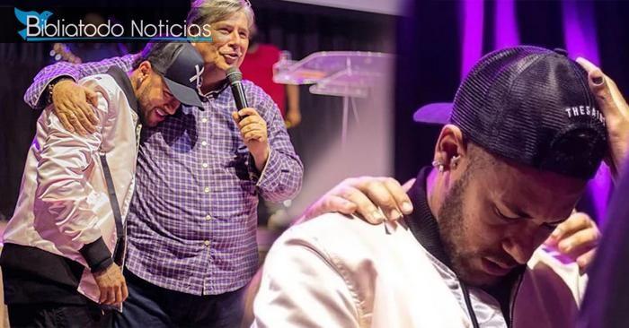 «Hay caminos que conducen a la muerte» Dios habla a Neymar en la Iglesia sobre su vida (VÍDEO)