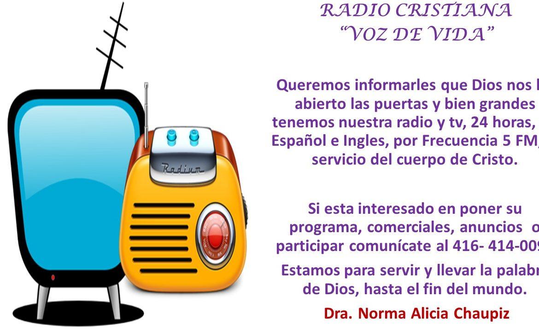Radio Cristiana, Voz de Vida