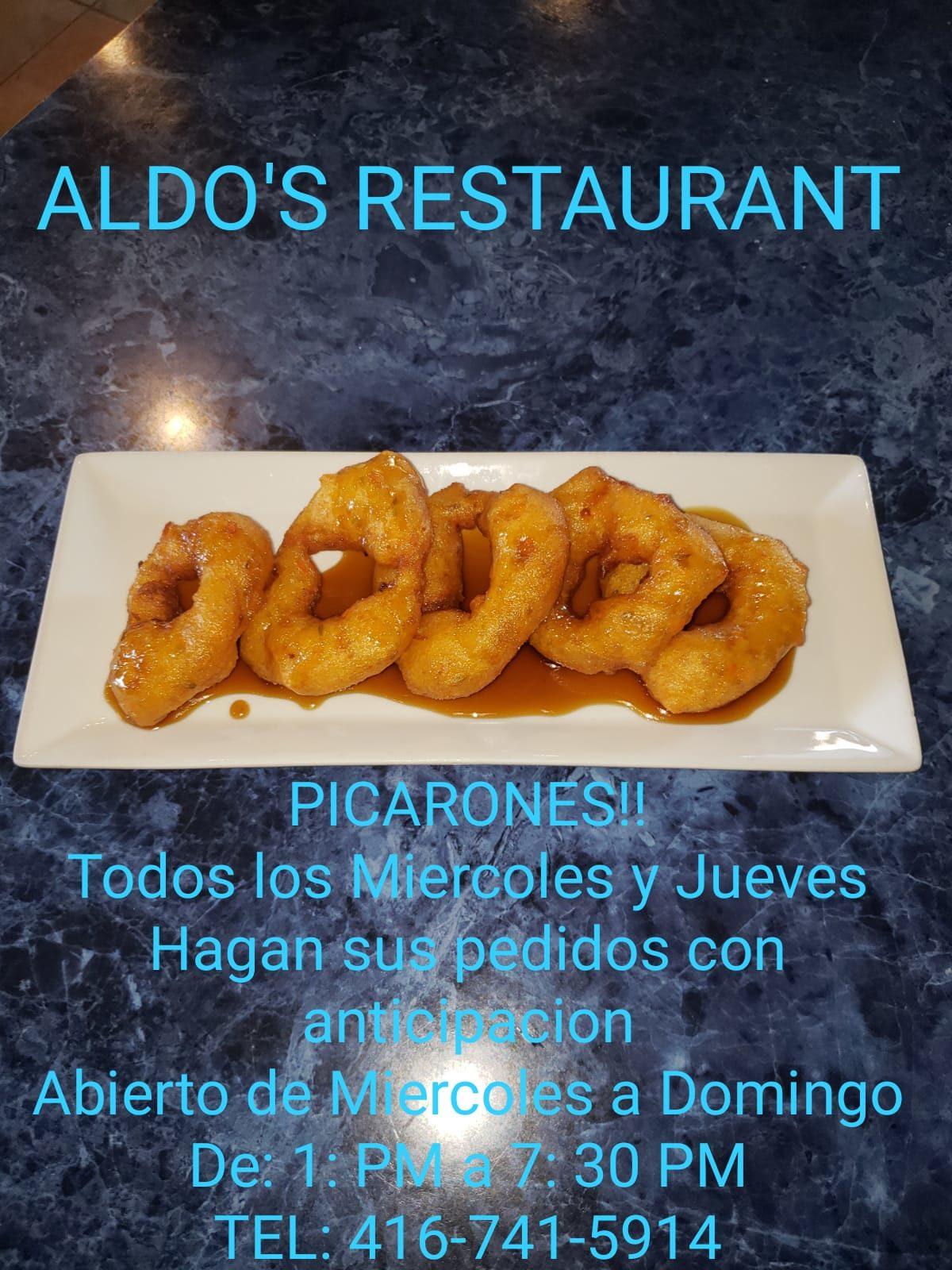 Aldo's Restaurante: Picarones!